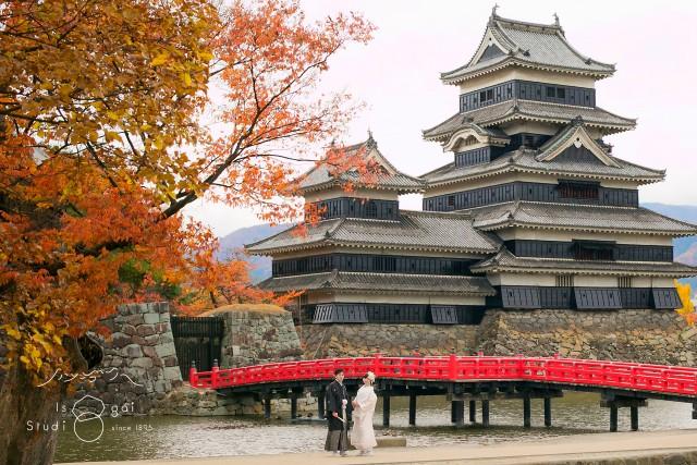 松本城 前撮り