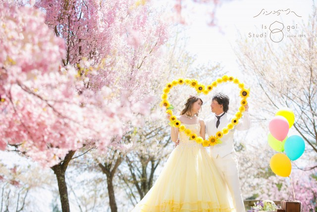 長野 桜前撮り